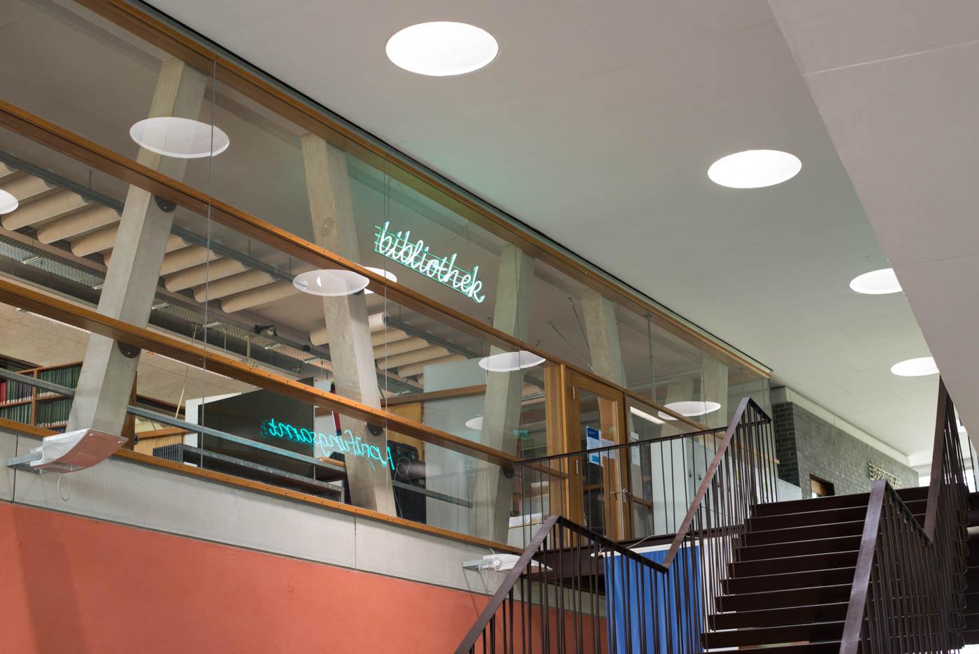 Treppenhaus zur Bibliothek