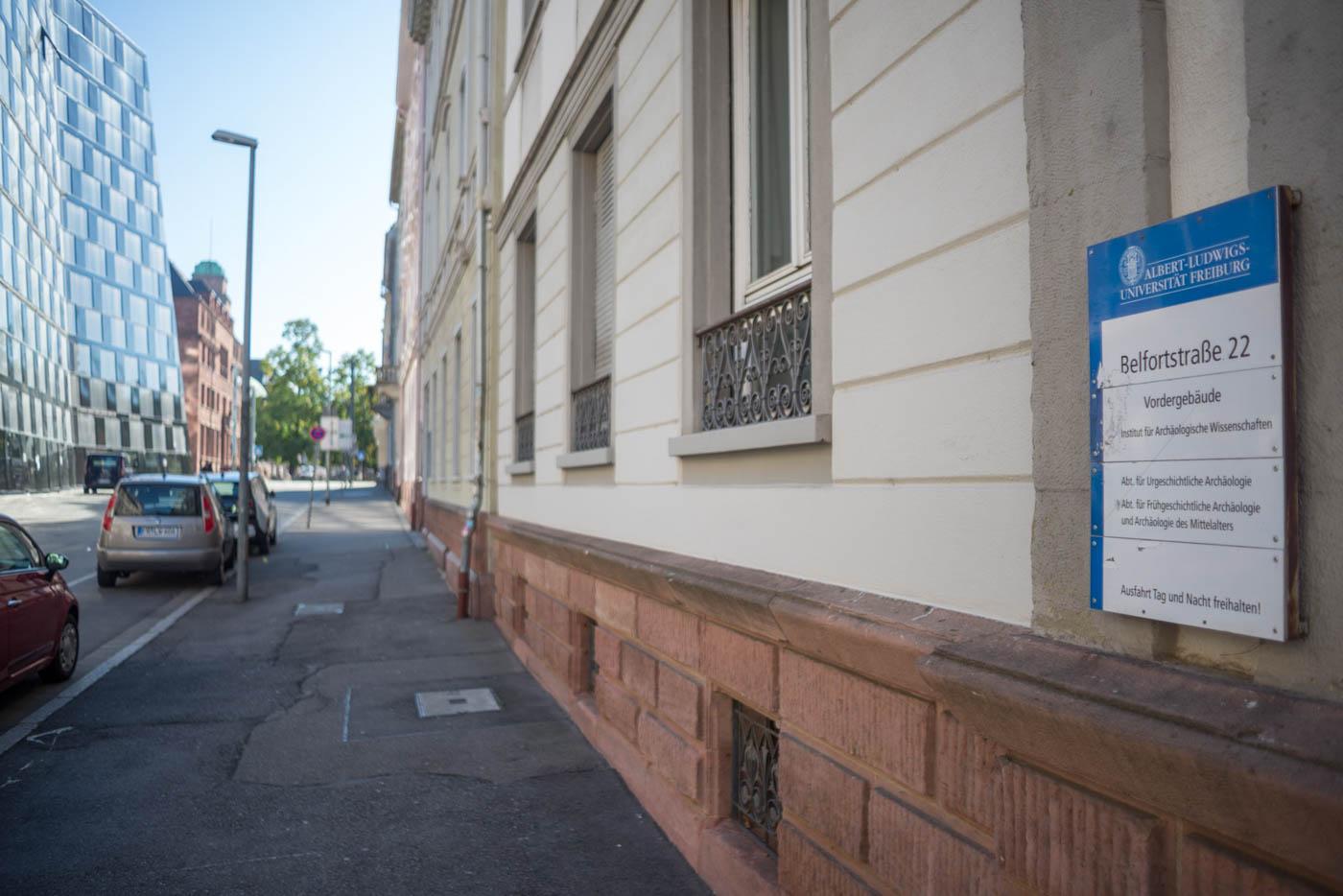 Belfortstraße 22 von außen