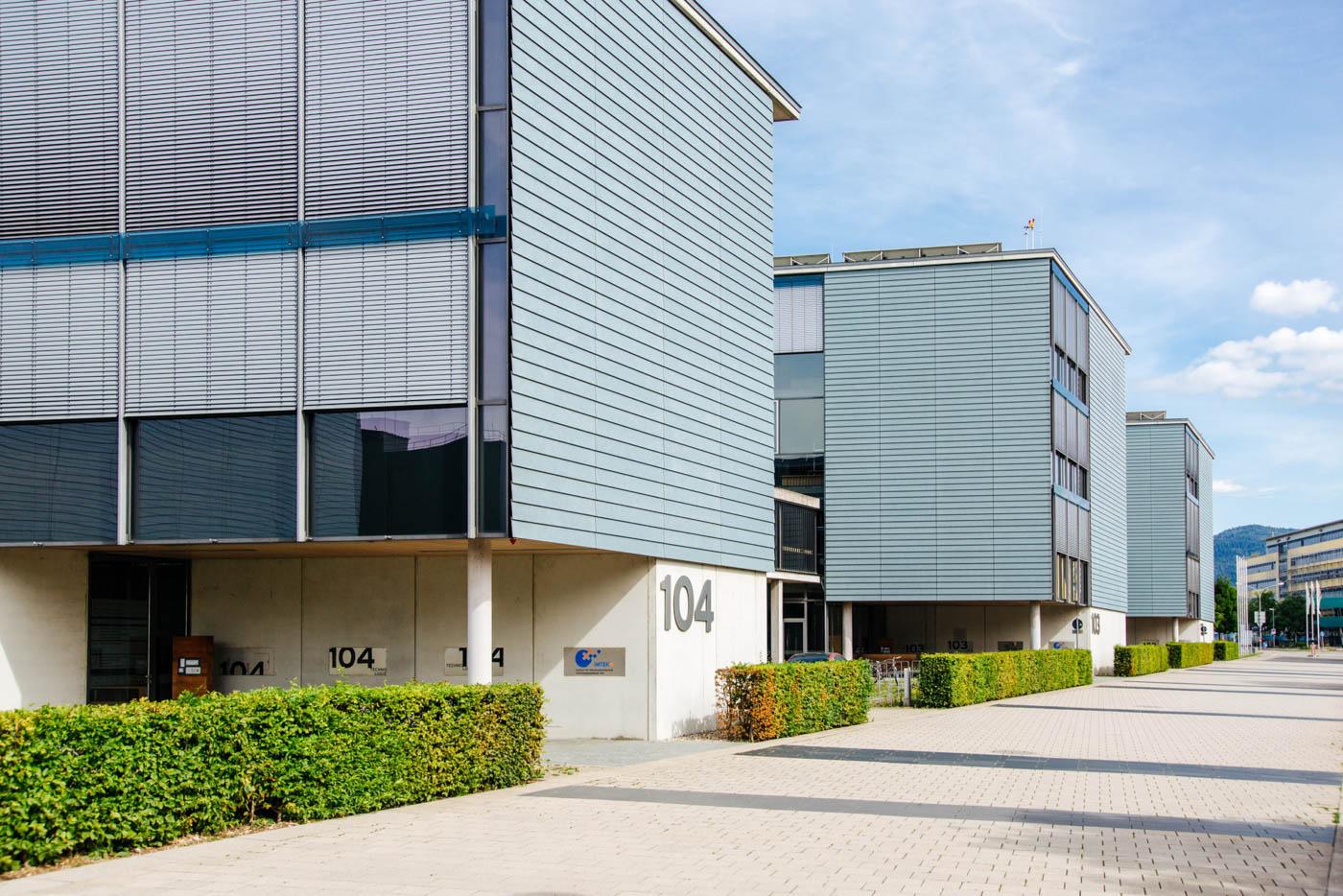 Die neuen Gebäude der technischen Fakultät.