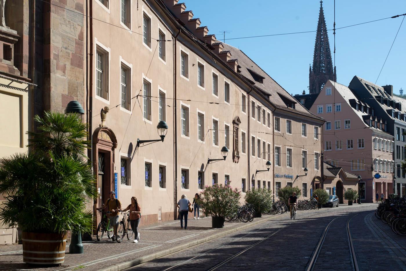 Bertoldstraße mit Uniseum